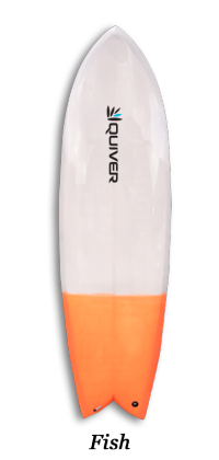 Fish Quiver Surfboard