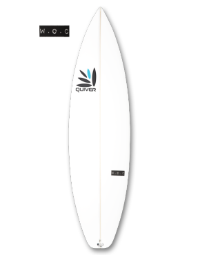 W.O.C Stubble Surfboard Product Image
