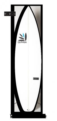 WOC Stubble Surfboard