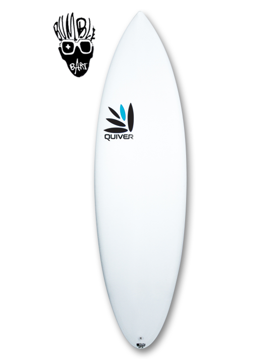 Bumble Bart Quiver Surfboard Q-Tech 4