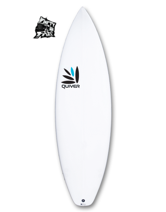 Dirty Truck Quiver Surfboard Q-Tech 4