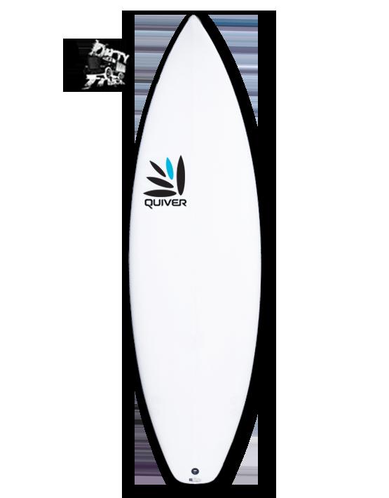 Dirty Truck Quiver Surfboard Q-Tech 4