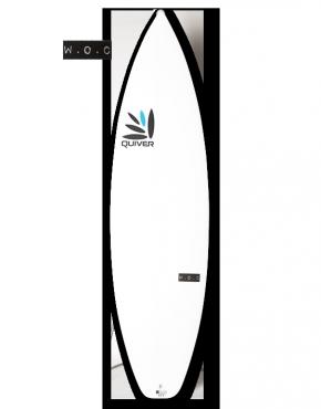 WOC Stubble Quiver Surfboard Q-Tech 4